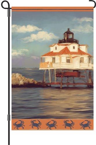 Premier 51238Garten Flagge beleuchtet, Thomas Point Leuchtturm, 12von 18