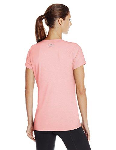 Under Armour da donna Twist Tech v-neck Pink