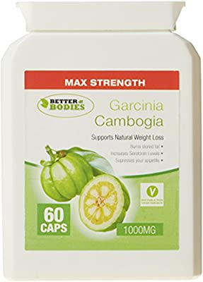 Better Bodies 1000 mg Garcinia Cambogia - Pack of 120 Capsules by Bionutricals