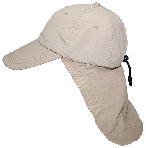 Preisvergleich Produktbild Cap,  Sahara,  khaki,  langer Nackenschutz