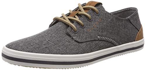 bugatti Herren 321502056900 Sneaker Grau (Dark Grey 1100), 43 EU