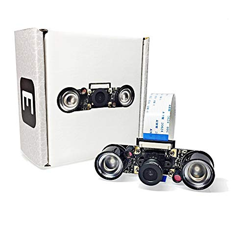 Electreeks® Raspberry Pi Kamera Modul Full HD mit Infrarot LEDs (Pi Cam Raspberry Pi)