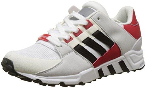 adidas Herren EQT Support RF Laufschuhe, Elfenbein (FTWR White/Core Black/Scarlet), 44 EU