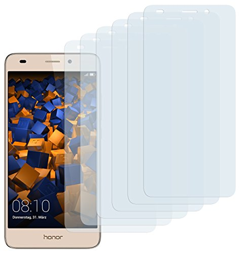 mumbi Schutzfolie kompatibel mit Huawei Honor 5C Folie klar, Displayschutzfolie (6x)