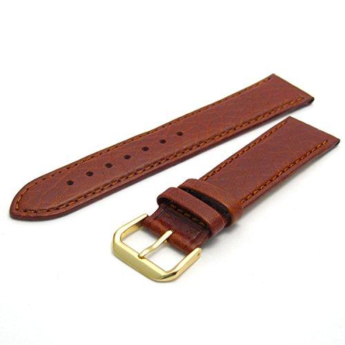 Komfortable Camel Grain Uhrenarmband aus Leder Band von Condor 20mm Tan G mit neuen Federstegen 051r