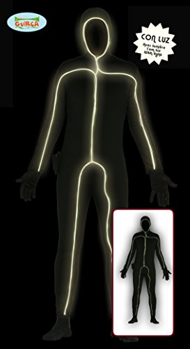 GUIRCA SL... - Luminous Overall Schwarz mit LED-Licht, Farbe Schwarz, Einheitsgröße 84267