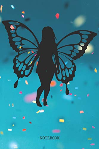 c Butterfly Fairy Planner / Organizer / Lined Notebook (6