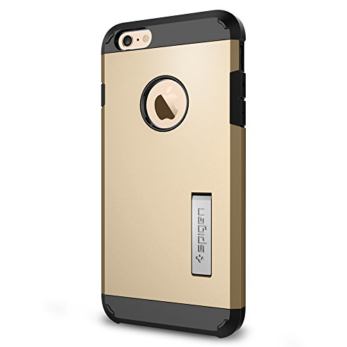 Spigen Case für iPhone 6 PLUS / 6S PLUS [TOUGH ARMOR] mit SF in mintgrün [Mint - SGP11055] Gold
