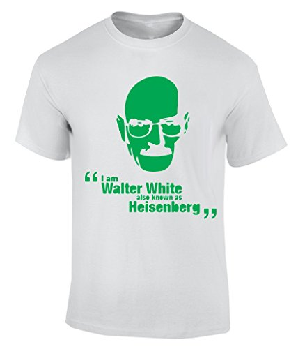 I Am Walter White Also Known As Heisenberg T-Shirt Bianco