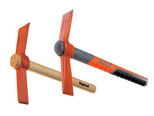 Hammer-Meißelhammer mit Griff Progrip cm. 35-Kapriol-400Gramm