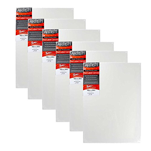 Fredrix Red Label Leinwand 18X24 6PK