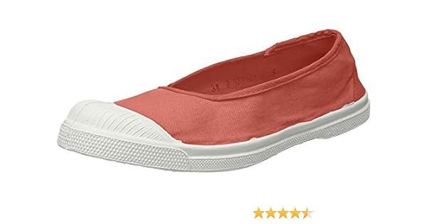0df71b551d1824 Bensimon Women's Tennis Ballerine Trainers: Amazon.co.uk: Shoes & Bags