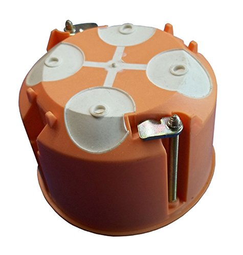 Membran-schalter (10 Stück Hohlwanddose mit Membrane Tiefe 61 mm)