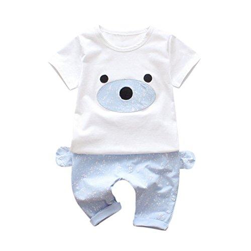 e76530ad6 Conjunto para niños. 2018 Nuevo recién nacido bebe ropa cuello redondo