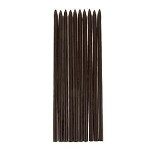 Generic 10pcs Women Handmade Wooden Hair Stick Pin Vintage Hair Accessories