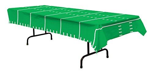 Beistle Tischdecke Spieltag Fußball Partyzubehör 1 Teil 1 Pack grün