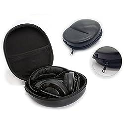 Noir haute qualité Portable Casque Audio Cas Sac Boîte pour Sennheiser HD 35 Dynamic & 229 & 558 & 65 Dynamic & 25