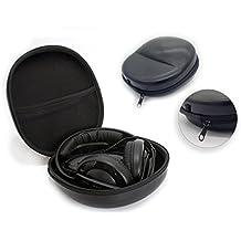 Negro Auriculares De Alta Calidad Caso Cubierta Protector de viaje bolsa de transporte para AKG K451& K550cartucho K702& K92