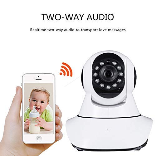 2 Pack - JX2 - Drahtlose CCTV 720P HD IP WiFi Smartkamera V380 64GB TF Speicher Indoor/Outdoor Security CCTV-Kamera-Unterstützung für iPhone / 3G-Telefon/Android/iPad/Tablet Iphone 3g Wifi