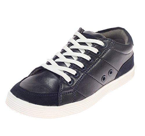 Khadim's Boys Navy Synthetic Casual Sneakers - 5