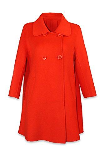 Well Knitting Damen Mantel Mehrfarbig Mehrfarbig Gr. 50, Mehrfarbig - Jacinth