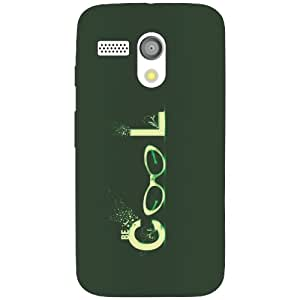 Moto G cool Phone Cover - Matte Finish Phone Cover