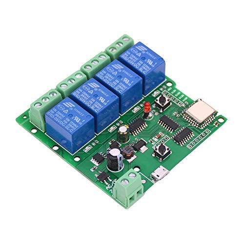 Heomeyb WiFi Inalámbrico Jog Relay DIY Smart Home Control Remoto DC 5-32V...