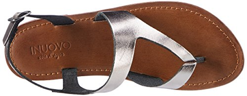Inuovo 7724, Infradito Donna Silber (Pewter)