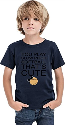 Softball Slogan Boys T-shirt 12+ yrs ()