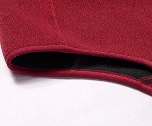 LWJH Jungle Camouflage Autunno E La Fotografia Resistente Gilet In Cotone Caldo Inverno Traspirante Zero Purple