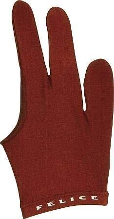 "Billard-Handschuh ""FELICE"", rot, beidhändig"