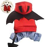 Batman Hund Pet Kostüm Batman Shirt mit Flügeln Kleidung für Hunde Haustiere Größe