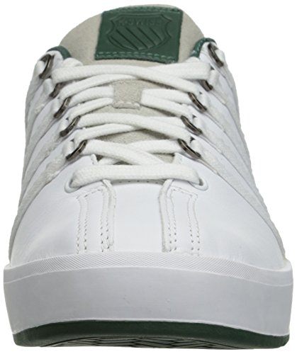 K Swiss The Classic II Low in White Pine and Stingray Weiß