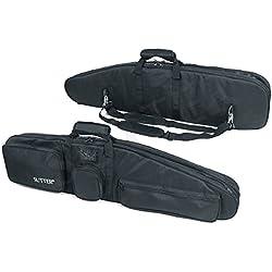 PREMIUM Housse fusil et Fourreau fusil double - Pour deux armes - 125x37cm - Housse pour arme