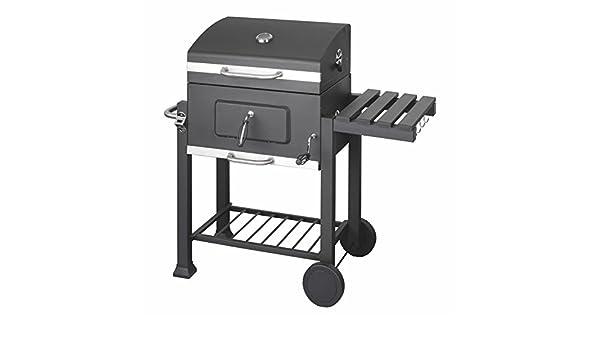Tepro Toronto Holzkohlegrill Indirektes Grillen : Grillwagen holzkohlegrill angular 115x67x107cm 30kg fahrbar grill