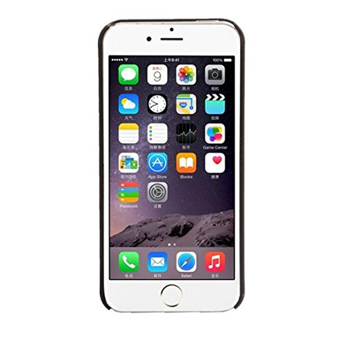 Vovotrade® Intagliato motivo damascato della copertura della cassa opaca per IPhone 5 5S (nero) nero