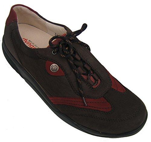 Waldläufer 591002-503-365 Hija donna scarpe larghezza H ardesia/bordo