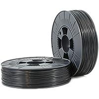 ABS 1,75mm black ca. RAL 9017 0,75kg - 3D Filament Supplies