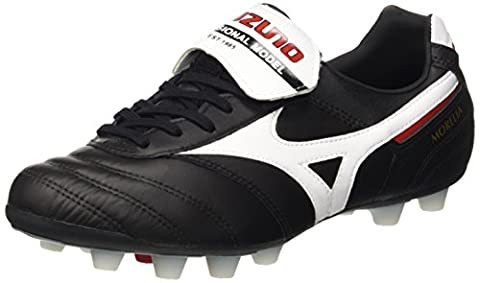 Mizuno MORELIA II MD, shoes homme - Noir (Black/White/Red), 42 EU (8 UK)
