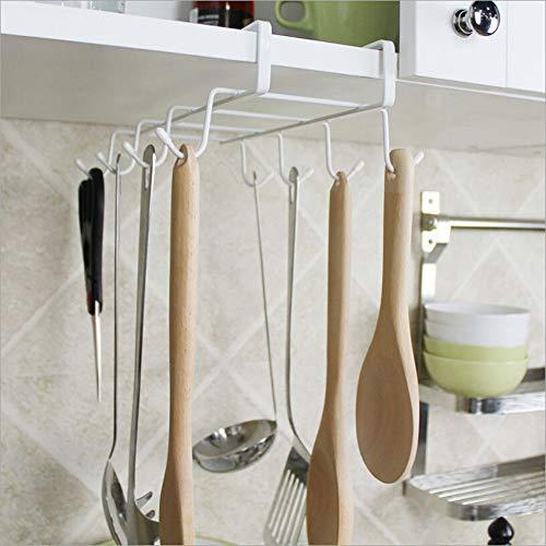 GWLYHZ Edelstahl Glas Mug Rack Tissue Handtuch hängenden Halter Bad Küche WC Veranstalter Schrank Schrank Mug Rack