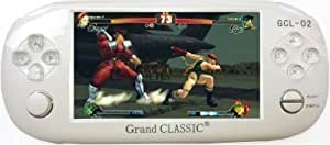 AE Zone PSP Handheld Gaming Console Grand Classic GCL02 with Camera,Video- Audio Player and 10000 In-Built Games