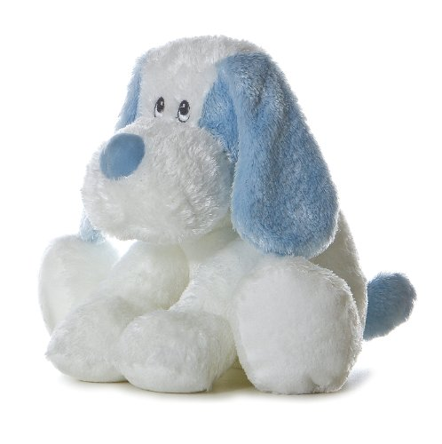 Aurora Plush Baby inches Blue Scruffy