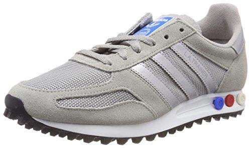 cheaper fc09c 7d5fd adidas la Trainer, Scarpe da Ginnastica Basse Uomo, Grigio (Mgh Solid Grey
