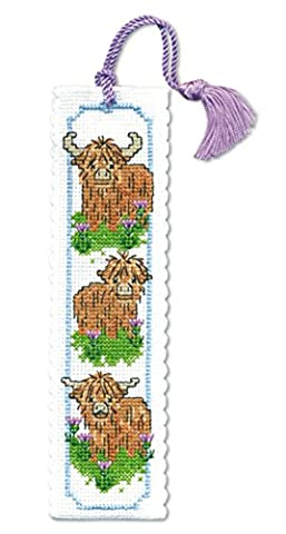 Textile Heritage Collection Cross Stitch Bookmark Kit - Wee Hieland