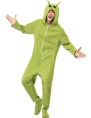 Smiffy's Disfraz de Alien Unisex para Adulto.