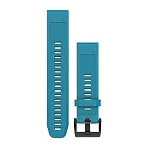 Garmin Quickfit 22silicone Band for Fenix 5–Cirrus Blue