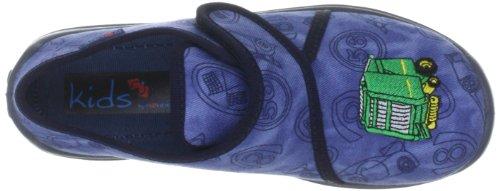 Rohde Boogy Jungen Flache Hausschuhe Blau (Ocean 56)