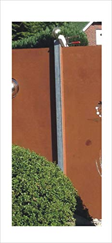 Jabo Design PFO01 Pfosten für die Sichtschutzwand incl. Montagematerial