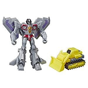 Transformers- Cyberverse Spark Armor Starscream, Multicolor (Hasbro E4298ES0)
