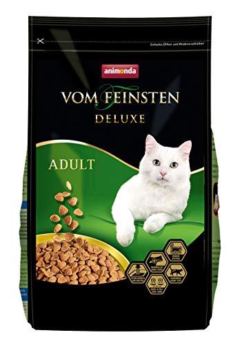 animonda Vom Feinsten Deluxe Adult, Trockenfutter für erwachsene Katzen von 1-6 Jahren, aus Geflügel, 1,75 kg